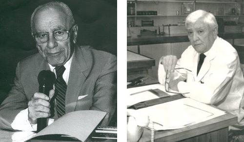 """Dr. Félix Fares Taie (izquierda) - Dr. Raúl Balado (derecha)"